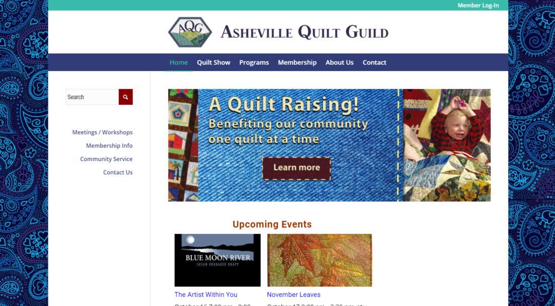 Asheville Quilt Guild Diva Deluxe Design